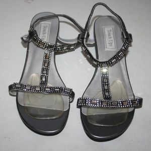 Touch Ups Jazz Wedge Sandals